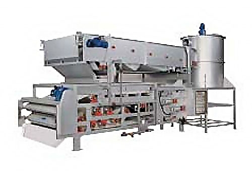 GSD SERIES belt thickening belt filter presses